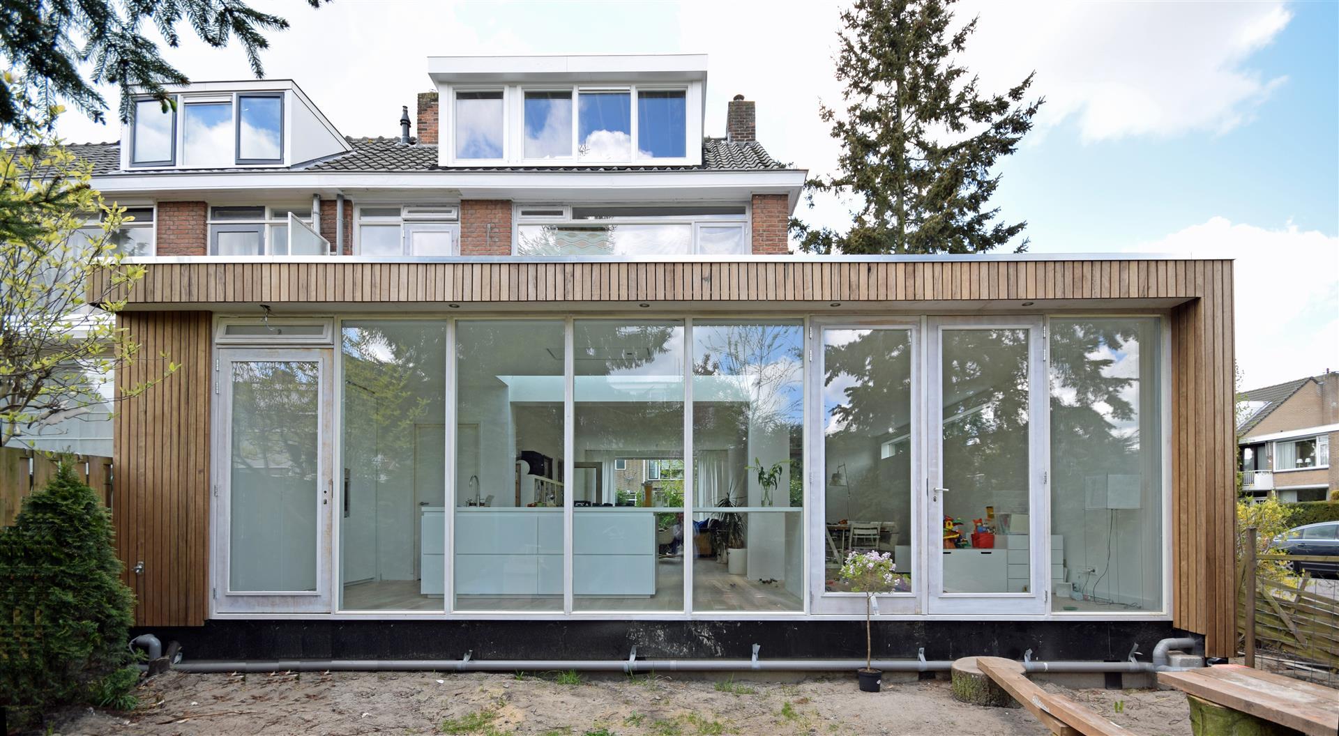 verbouwing met aanbouw Rotterdam Hillegersberg2014 u2013 2015 katrien ...