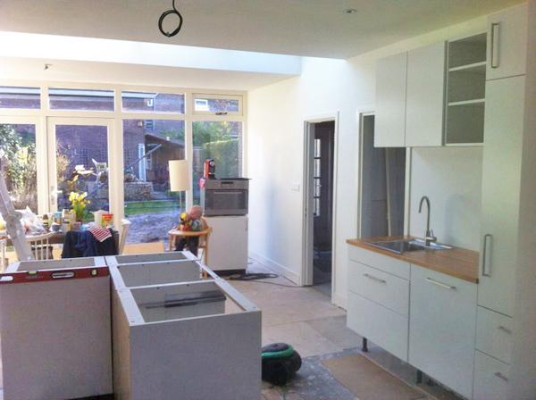 Kleine Aanbouw Keuken : aanbouw Utrecht Elinkwijk2013 ? 2014 katrien joosten architect
